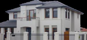 Rendering and plastering in residential buildings